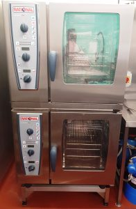RATIONAL Stacked CombiMaster Electric 6 Grid Combi Ovens