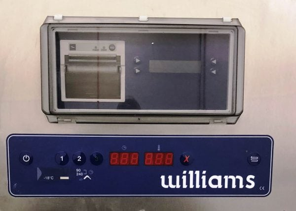 WILLIAMS Roll In Modular WBCF 120kg Blast Chiller Freezer – Single Door