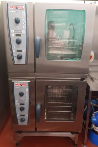 RATIONAL Stacked Combi Master Electric 6 Grid Combi Ovens