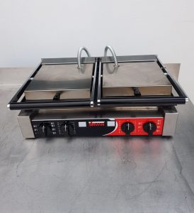 SIRMAN Double Pannini Clamp Grill.