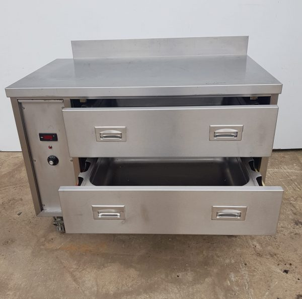 VICTOR 2 Drawer Heated Holding Unit