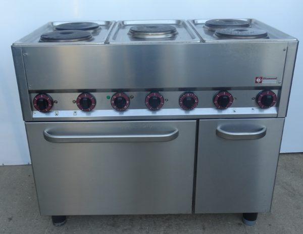Diamond E56-5PFVA 6 Ring Electric Range