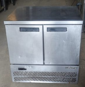 WILLIAMS 2 Door Compact Bench Fridge