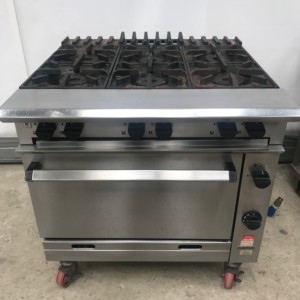 FALCON Chieftain 6 Burner Gas Range