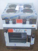 LINCAT Silverlink 4 Ring Hob & Oven