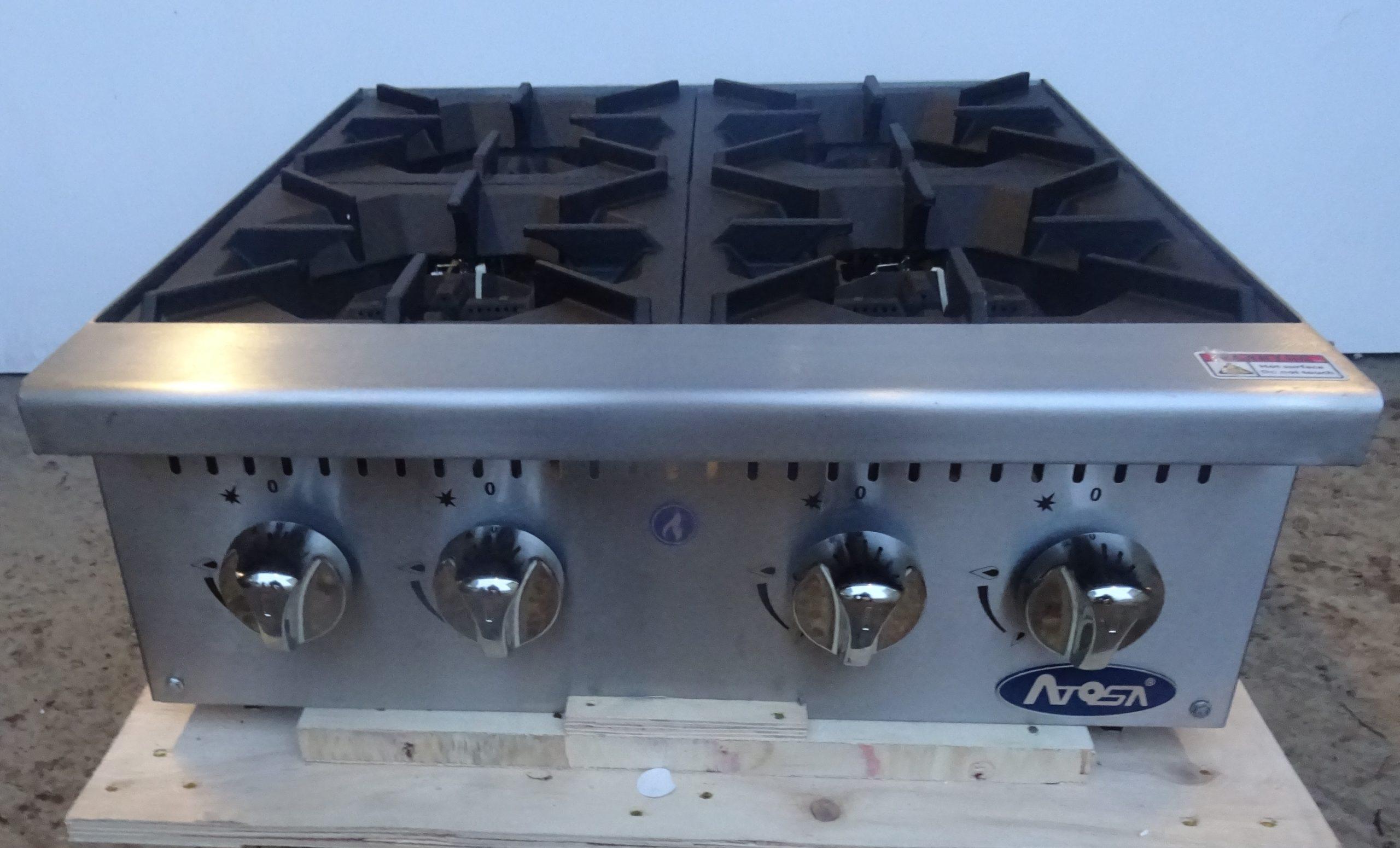 ATOSA ATHP-24-4 Burner Boiling Top