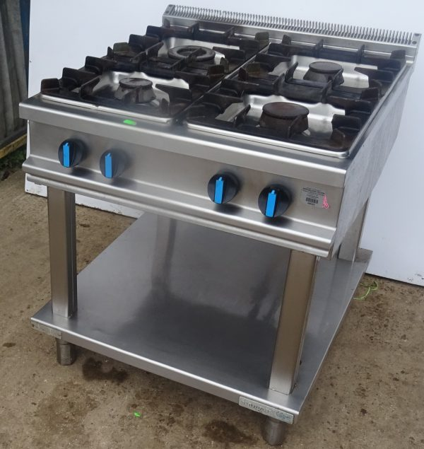 STANGARD 4 Burner Gas Boiling Table – CLEARANCE ITEM