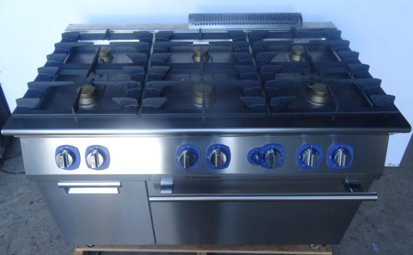 ELECTROLUX 6 Burner Gas Range – B Grade
