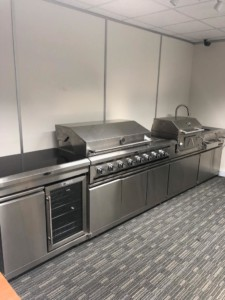 Full Alfresco kitchen Cook Line. Immaculate, brand new and huge savings from new price