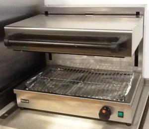LINCAT Silverlink Electric Riser Salamander Grill