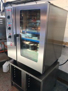 RATIONAL Combi Master CMP Electric 10 Grid Combi Oven with Stand