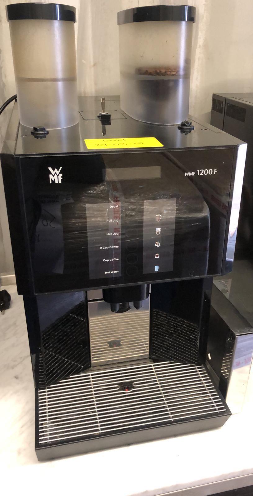 WMF 1200 F Double Silo Bean to Cup Coffee Machine