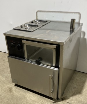 KING EDWARD COMP Stainless Steel Jacket Potato Oven