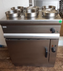 LINCAT Silverlink 6 Pot Bain Marie with Convection Oven