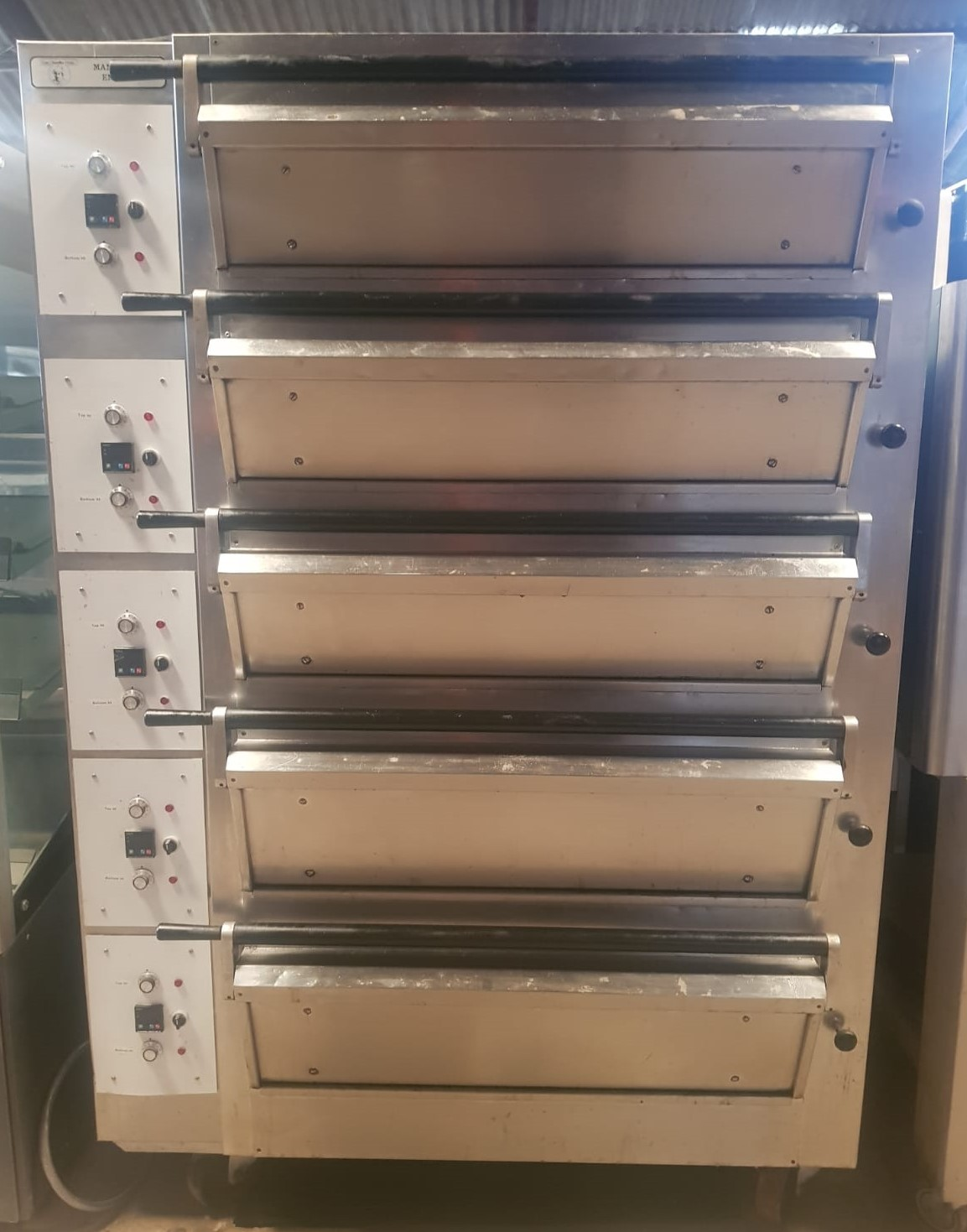 TOM CHANDLEY Compacta 5 Deck 10 Tray Bakers Oven