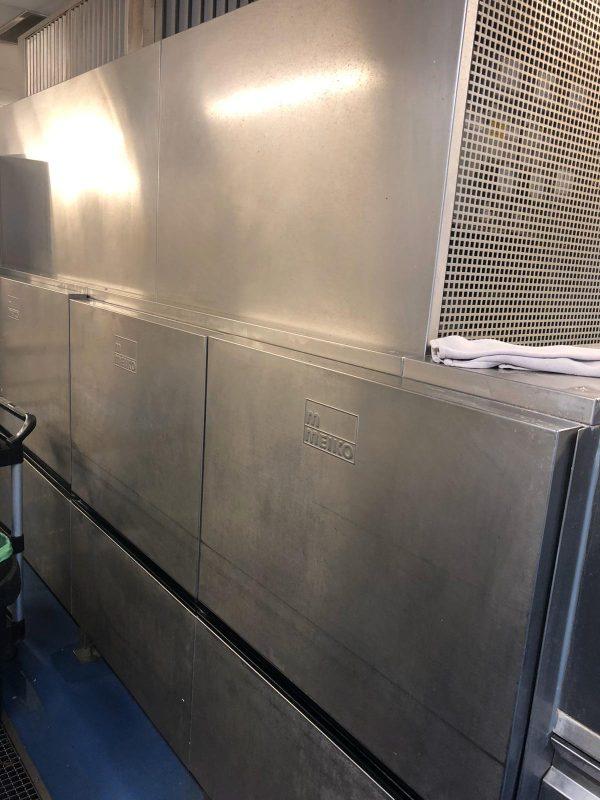 MIEKO B460 VAP Flight Conveyor Dish Washer with Pre-Wash & Drier