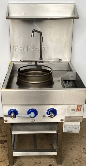 FALCON Single gas Wok Range.