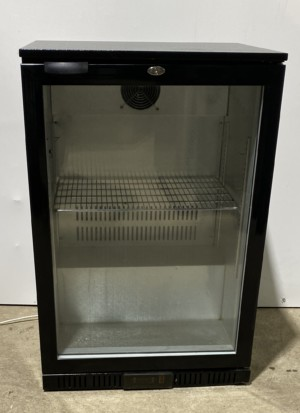 LEC Single Back Bar Chilled Bottle Display