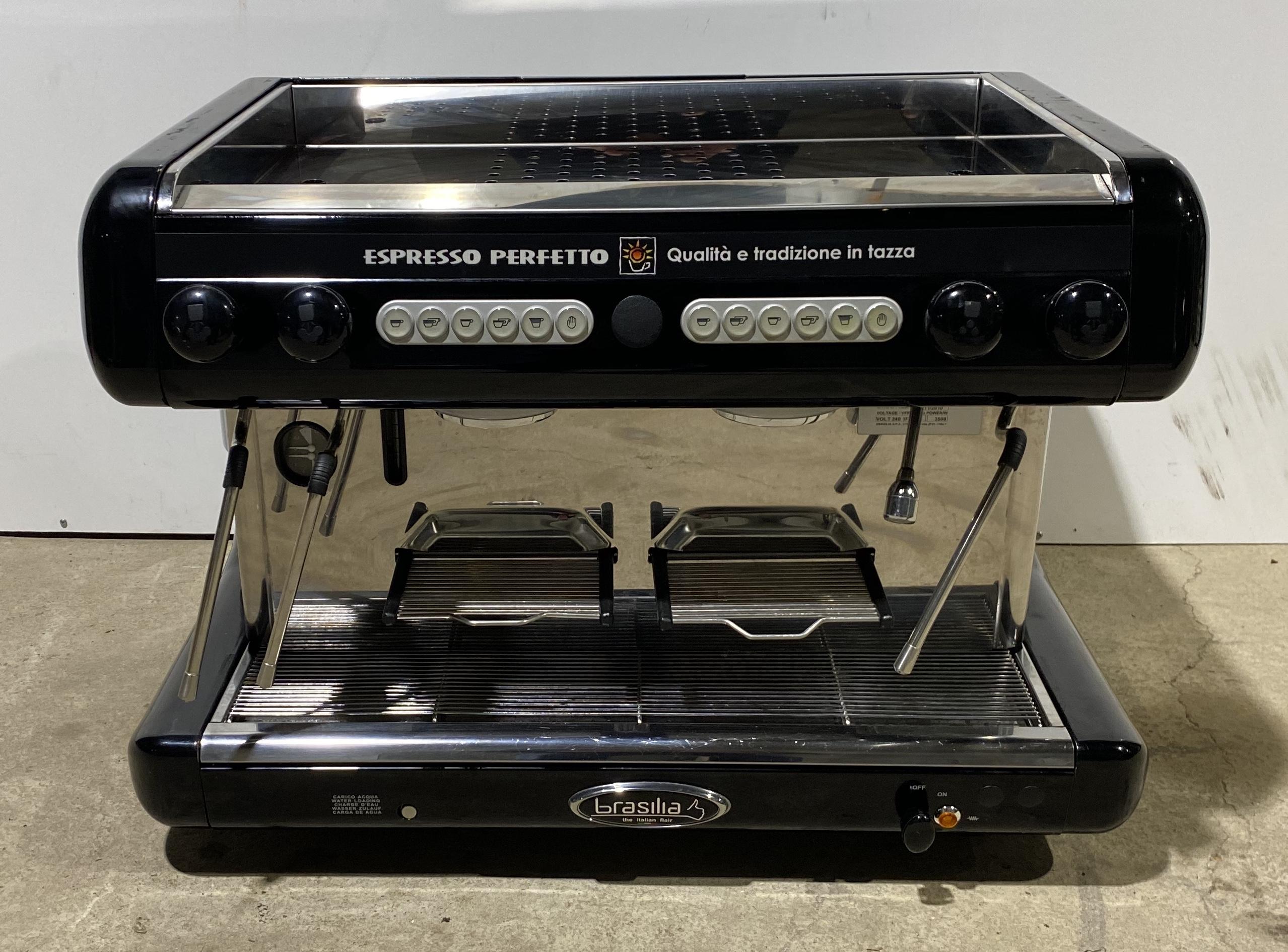BRASILIA Espresso Perfetto 2 Group Coffee Machine