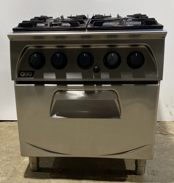 LINCAT Q90 4 Burner Gas Range with Oven