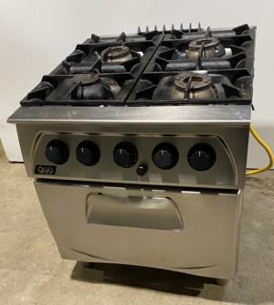 LINCAT Q90 4 Burner Gas Range with Oven