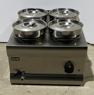LINCAT Silverlink 4 Pot Wet Well Bain Marie – B Grade new