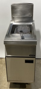NYATI Single Well Single Basket Gas Fryer – Clearance Item