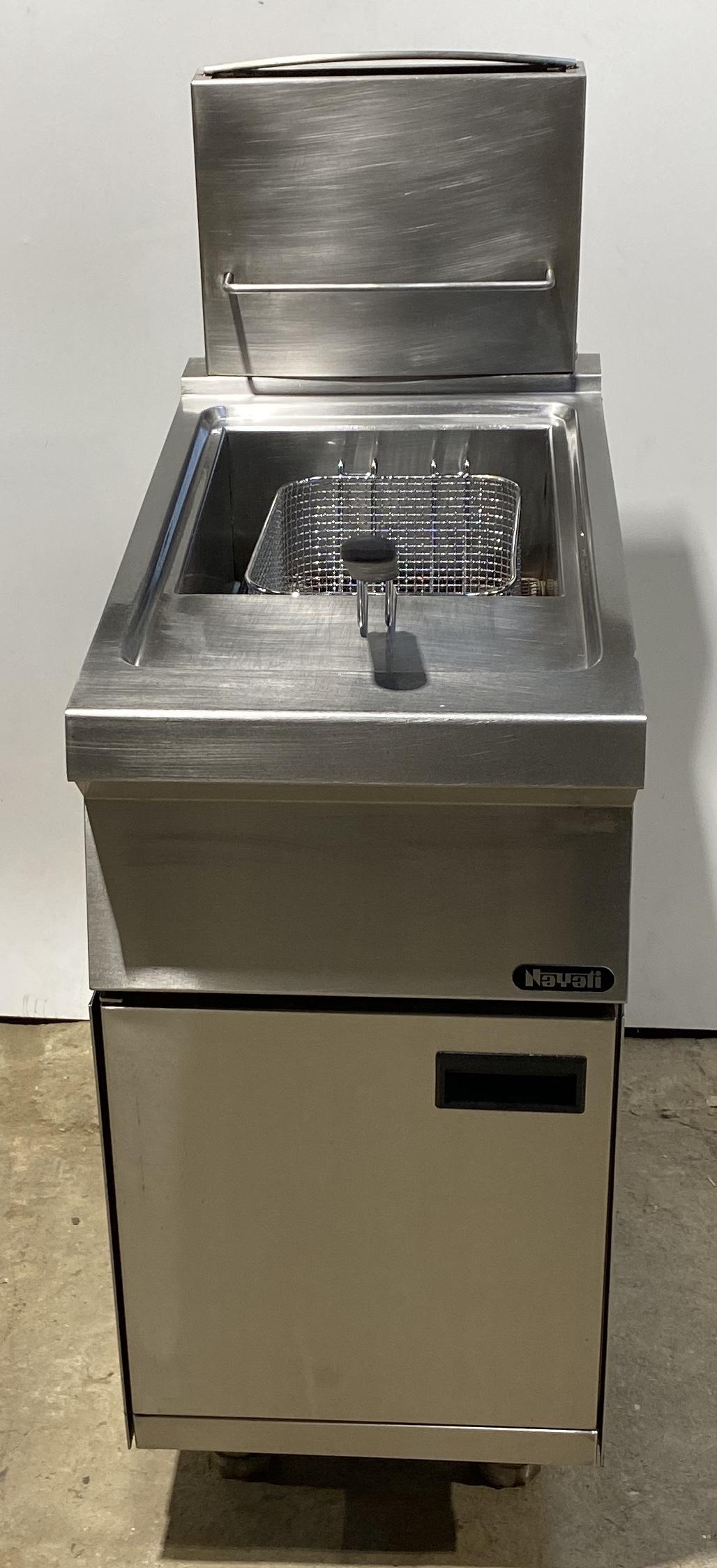 NYATI Single Well Single Basket Gas Fryer – Clearance Item