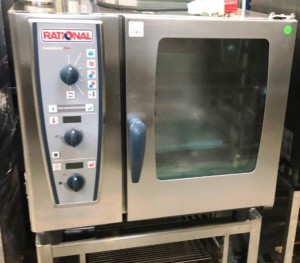 RATIONAL CMP Electric 6 Grid Combi Oven with Stand