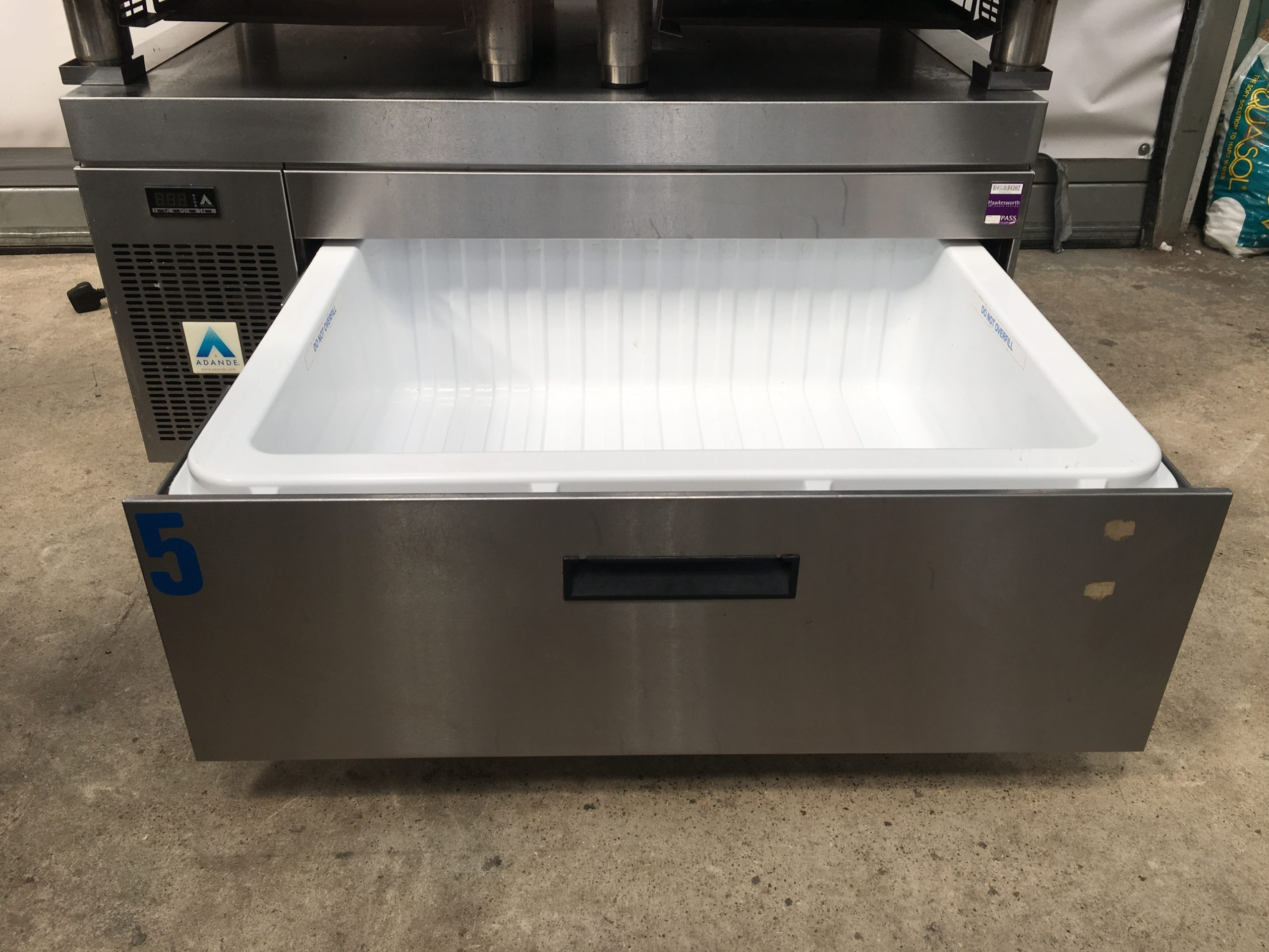 ADANDE Single Chilled Holding Drawer Under Counter Unit