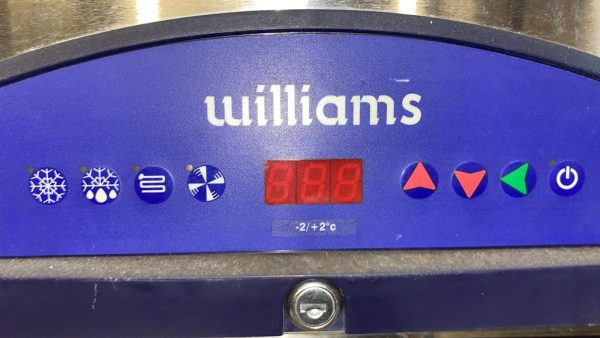 WILLIAMS FG2TSS 2 door Fish/Meat upright Fridge – Clearance Item