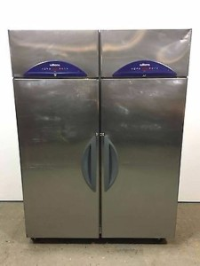 WILLIAMS FG2TSS 2 door Fish/Meat upright Fridge – Clearance Item