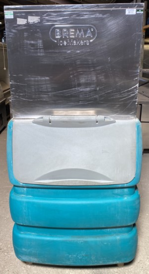 Brema C150 Ice Machine with Storage Bin
