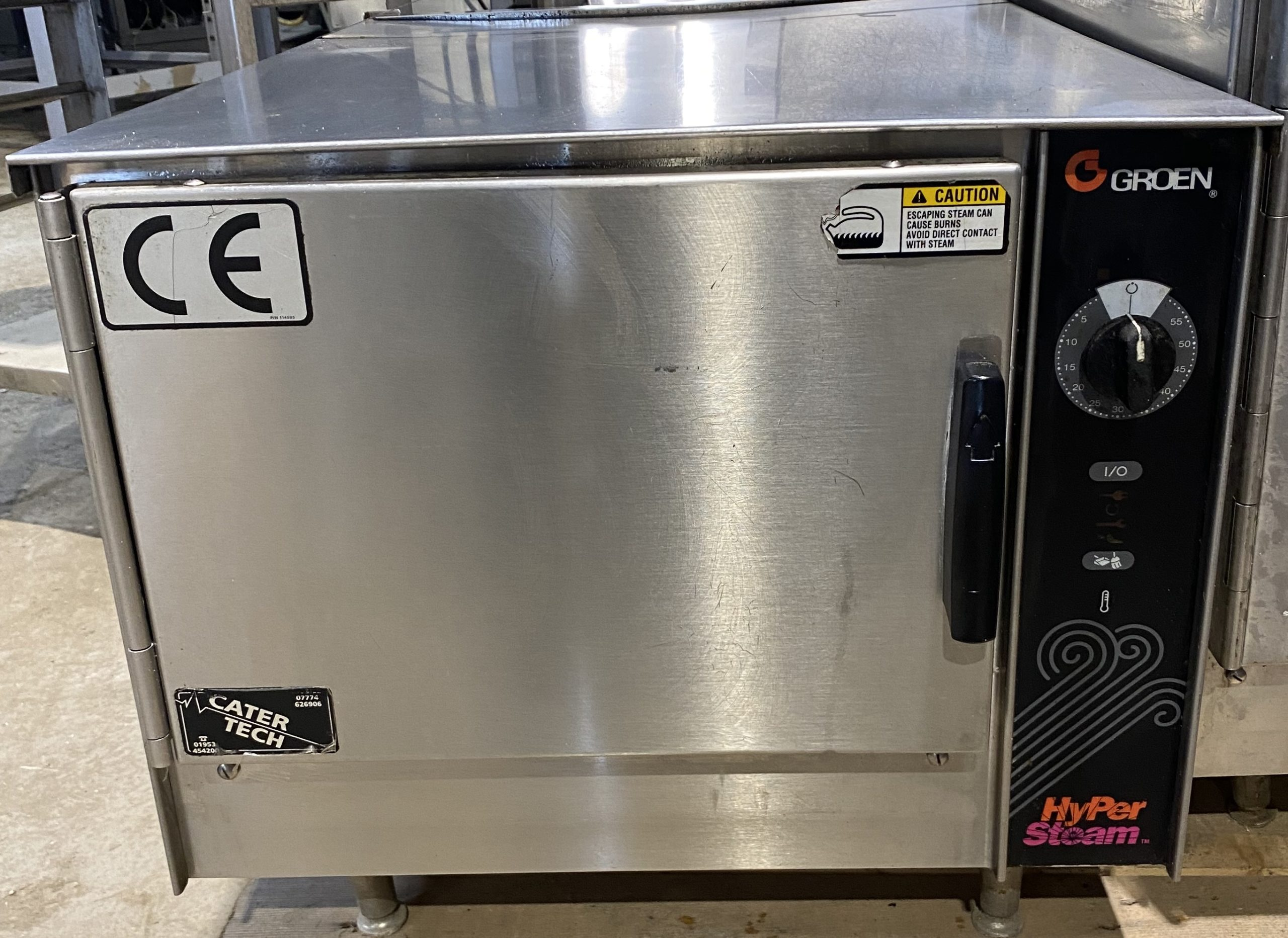 Groen HY-3E HyperSteam Pressureless Steamer