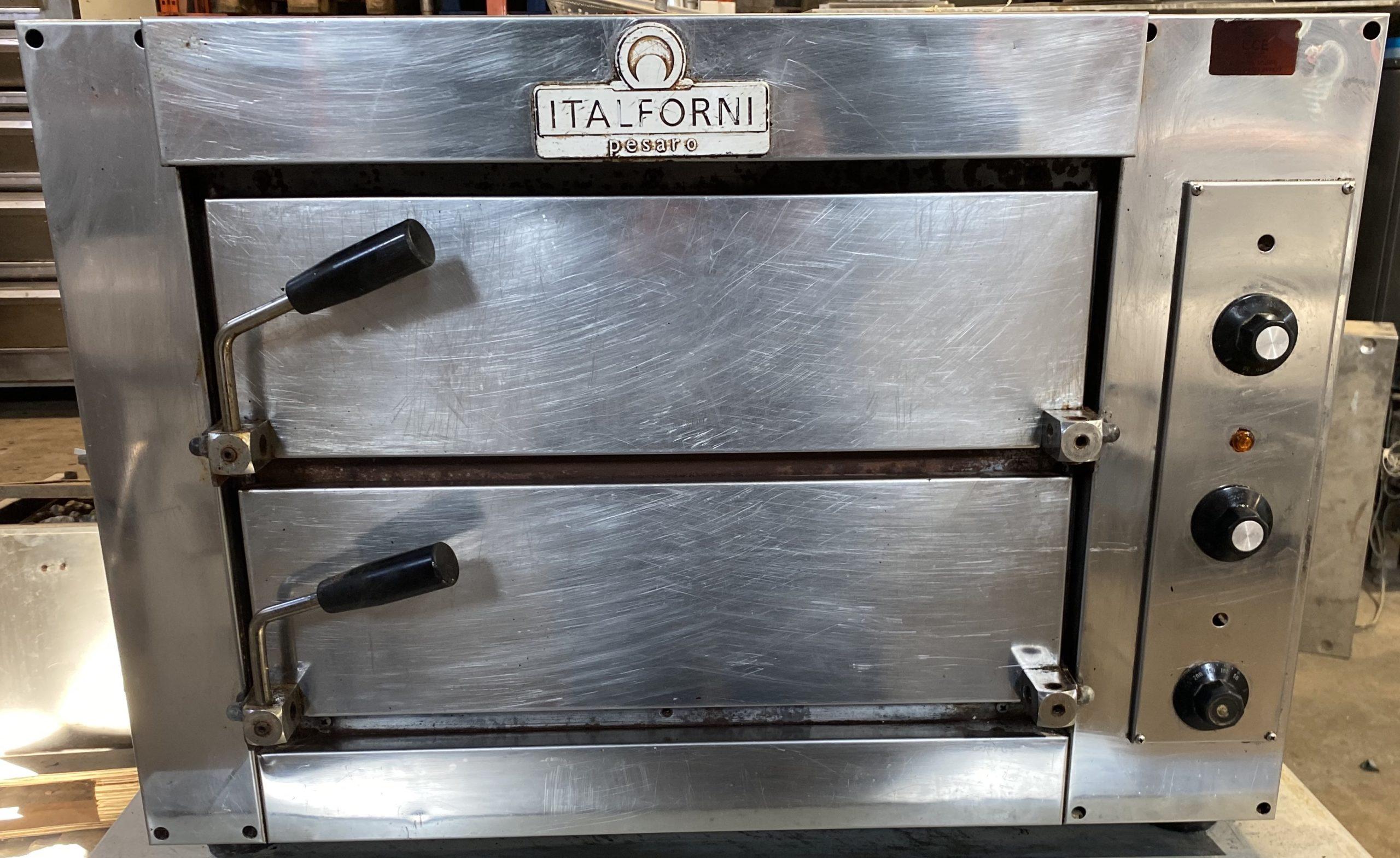 Italforni Fast 50 Twin Deck Pizza Oven