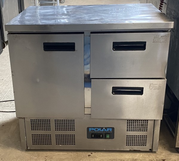 Polar 2 drawer 1 door