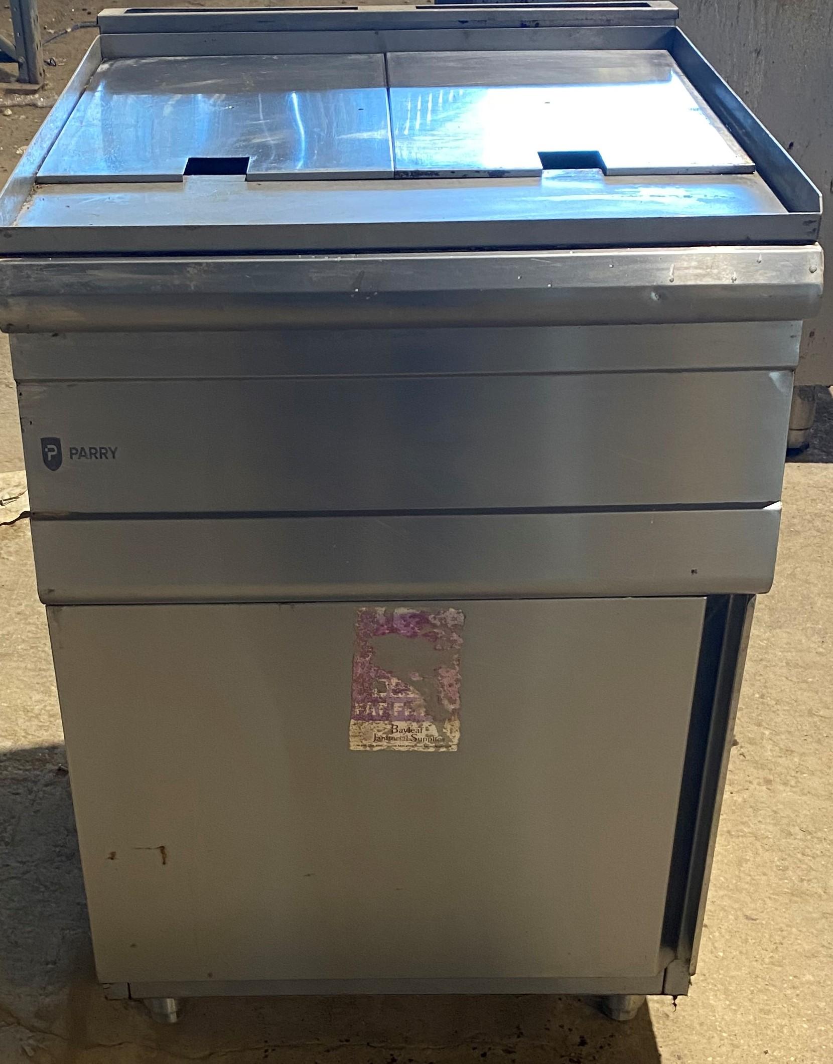 PARRY PD GF Twin Gas Fryer
