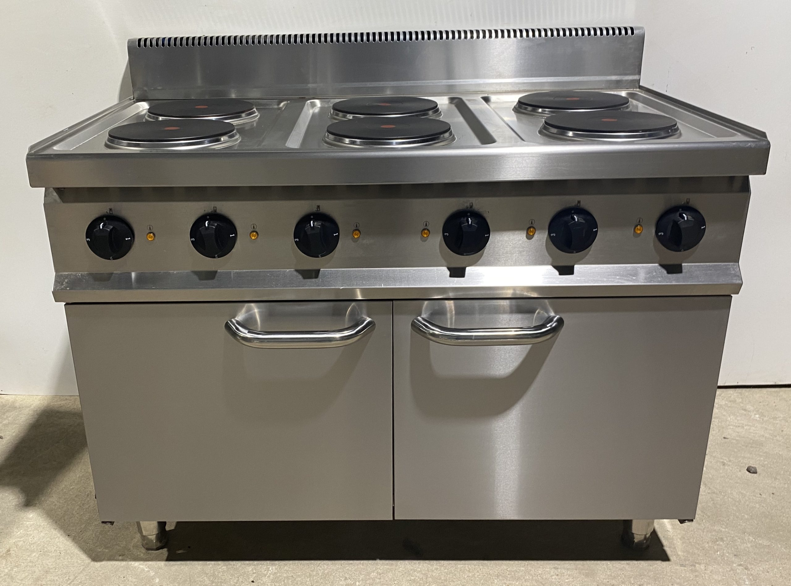 6 Hob Extra Wide Electric Boiling Top with Double Door Cupboard Base – B Grade Brand New. (Copy)