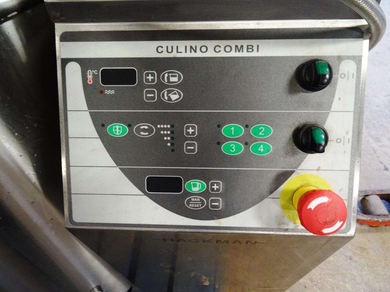 HACKMAN CULINO 100 Litre Electric Tilt Kettle with Sitirrer