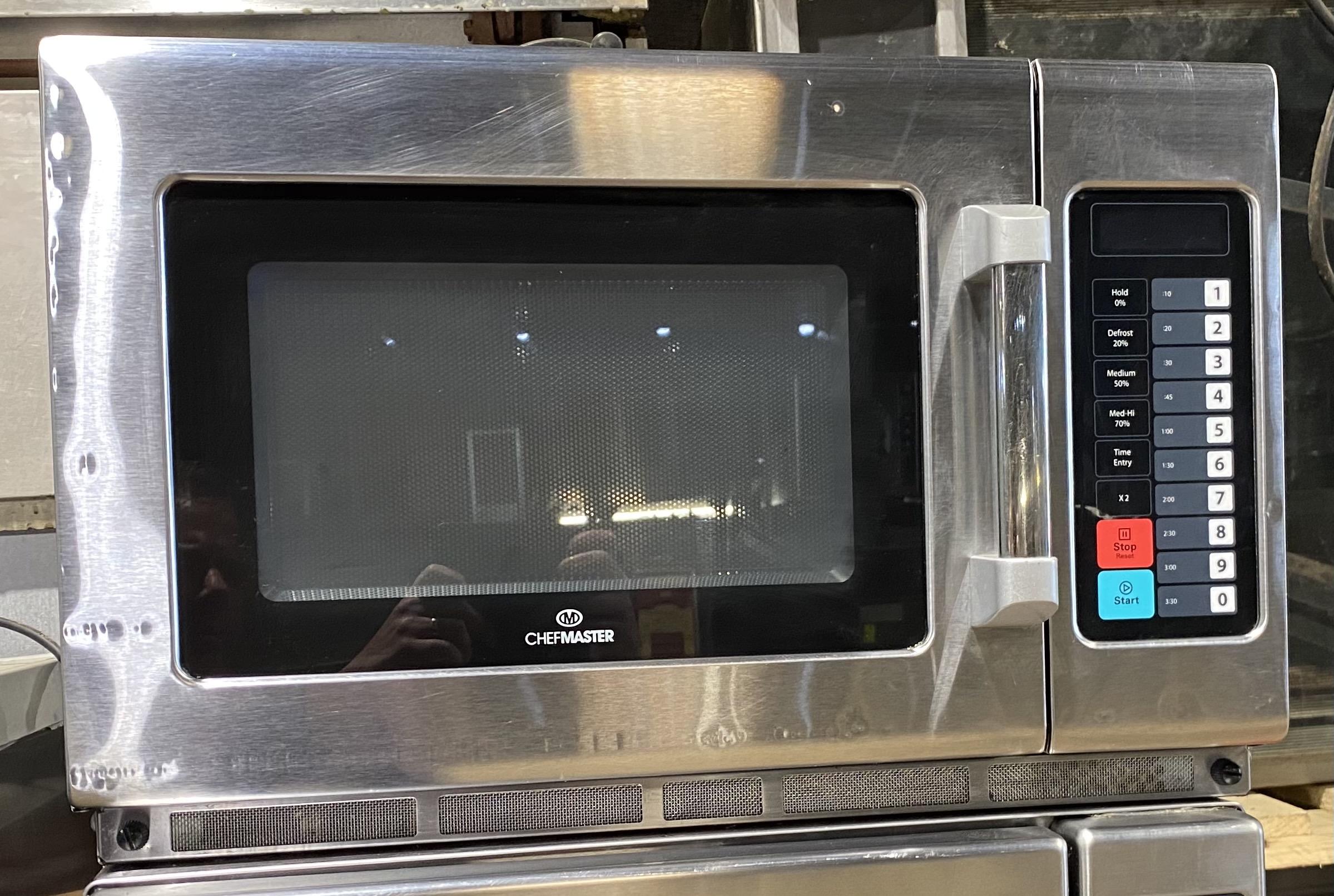 CHEFMASTER HEB 643 1800 Watt Commercial Microwave