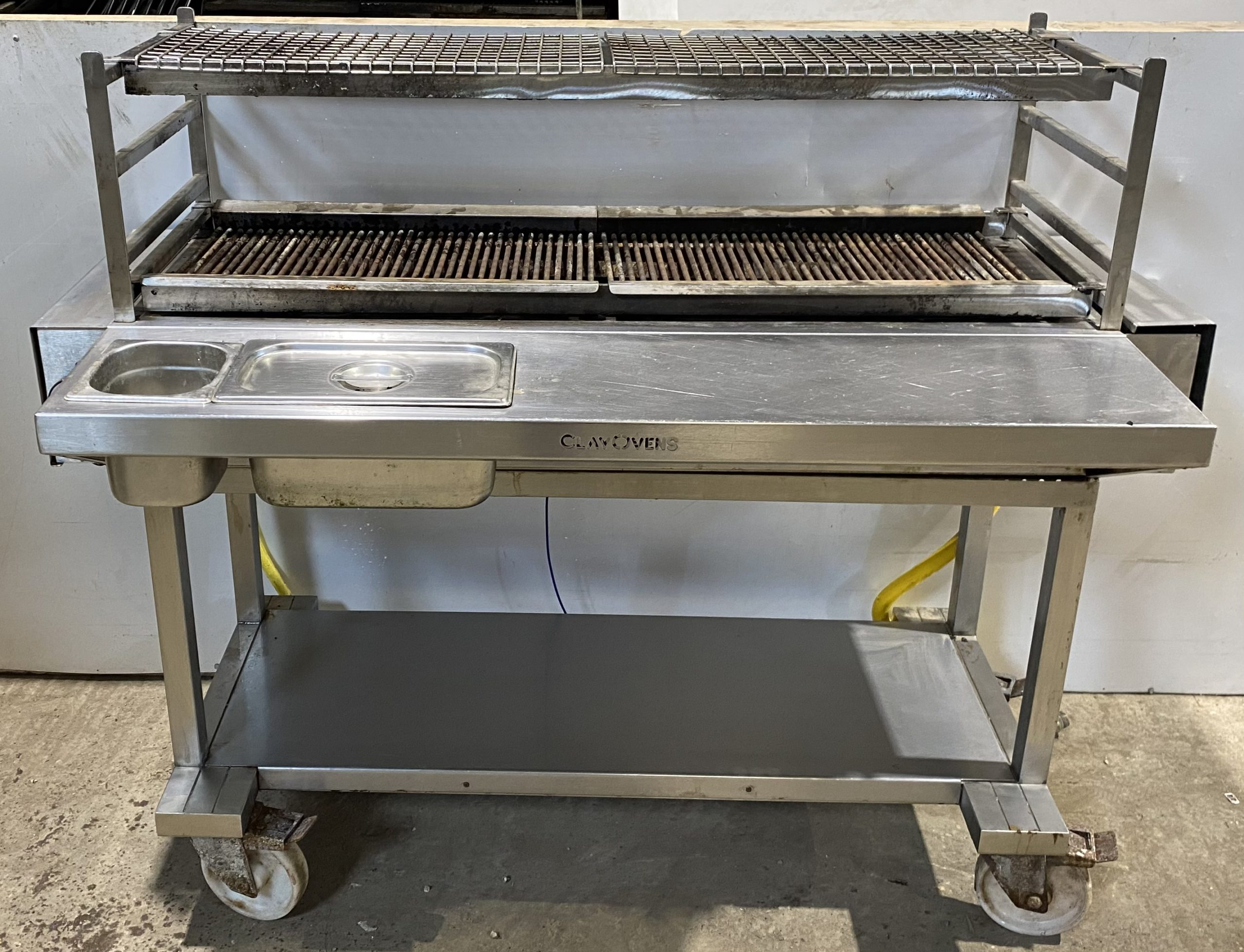 CLAY OVENS Rabata Flame Char Grill