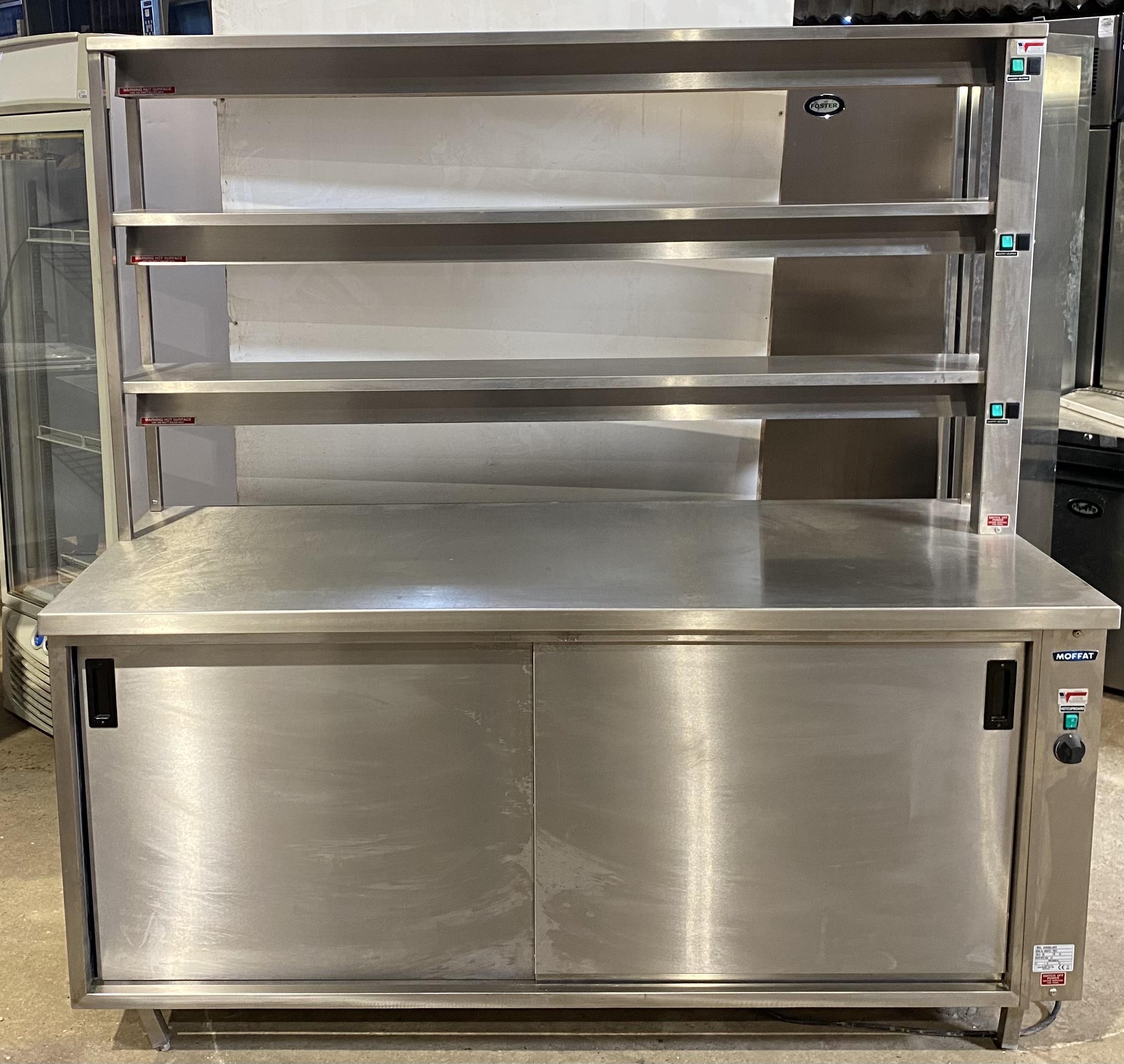 MOFFAT Triple Heated Gantry Chef Pass.