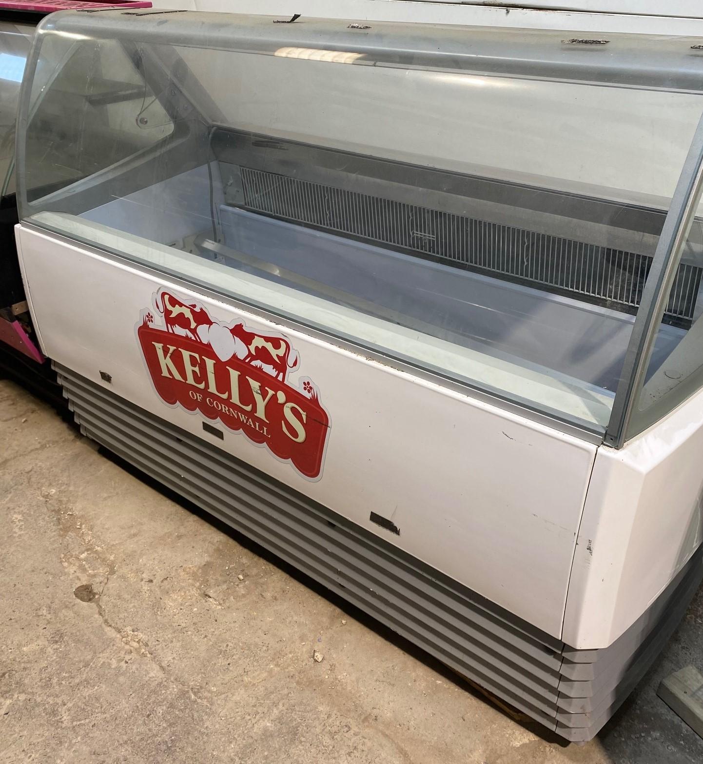 Ice Cream & Gelato Display Freezer