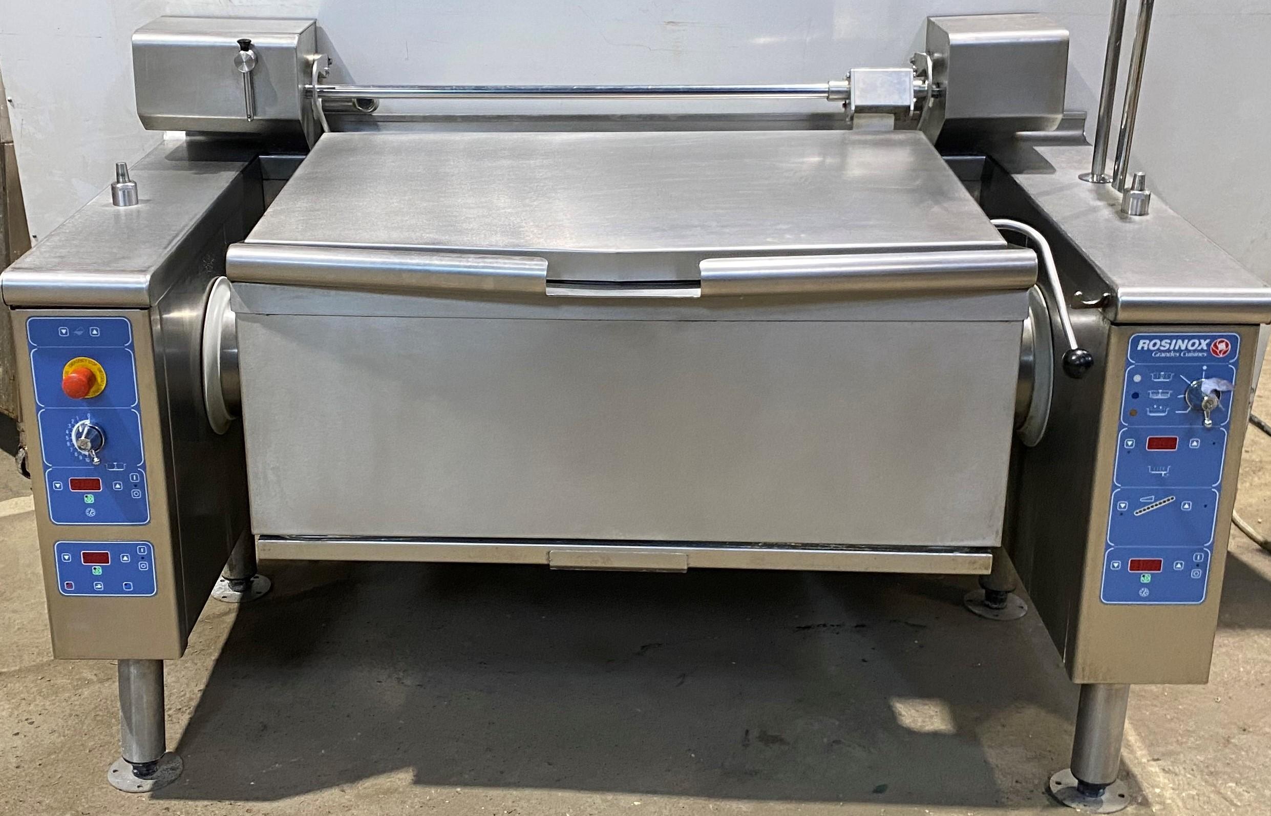 ROSINOX 150 Litre Electric Bratt Pan