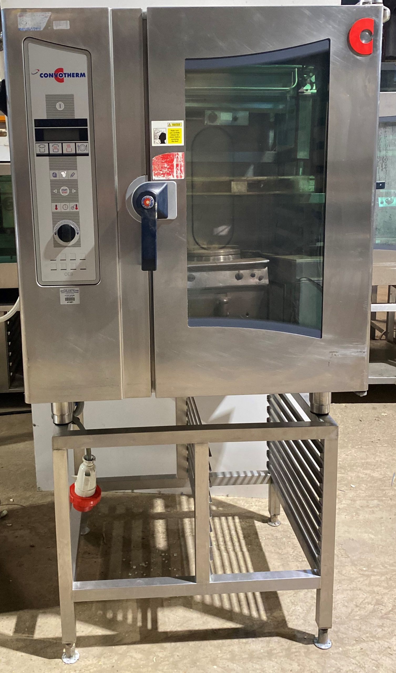 Convotherm OEB10.10 – 10 grid combi oven