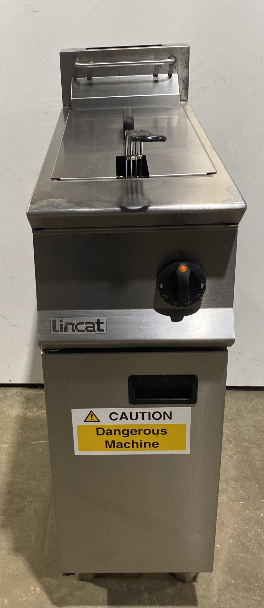 LINCAT Single Well Gas Fryer. High Efficiency