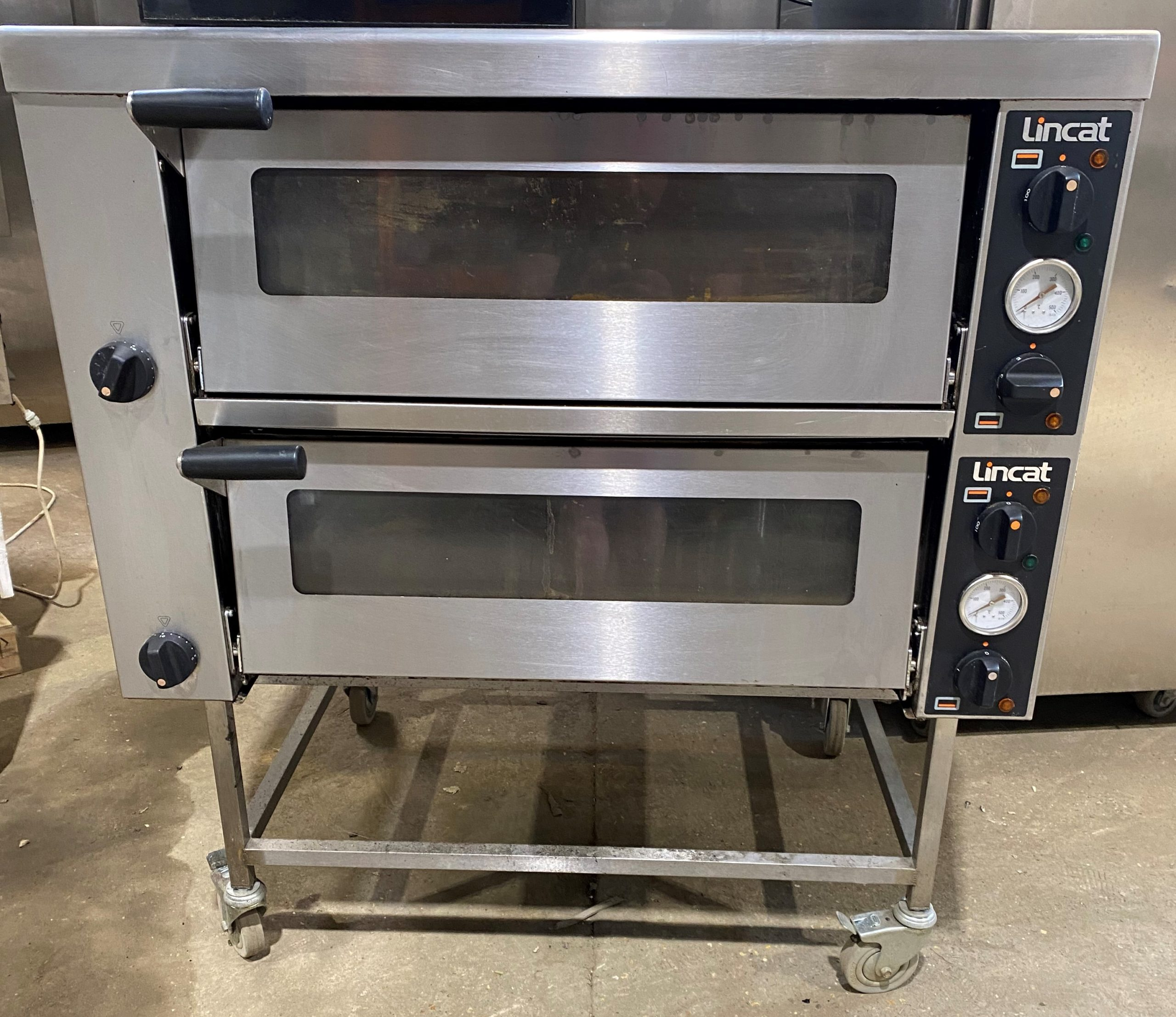 LINCAT Premium Range Stacked Electric PIzza Ovens with Stand