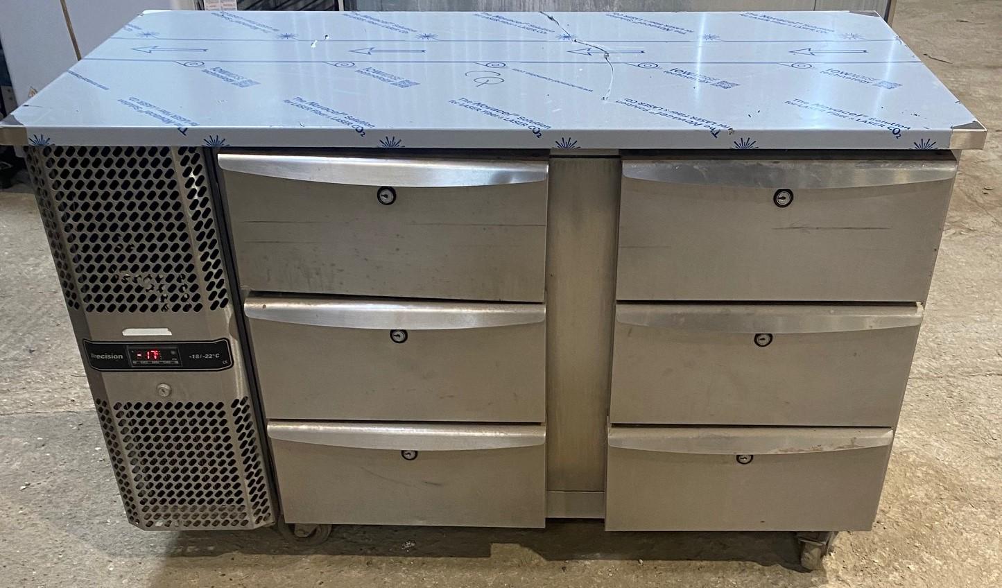 PRECISION 6 Drawer Bench Freezer